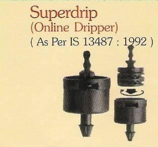 On line drippers